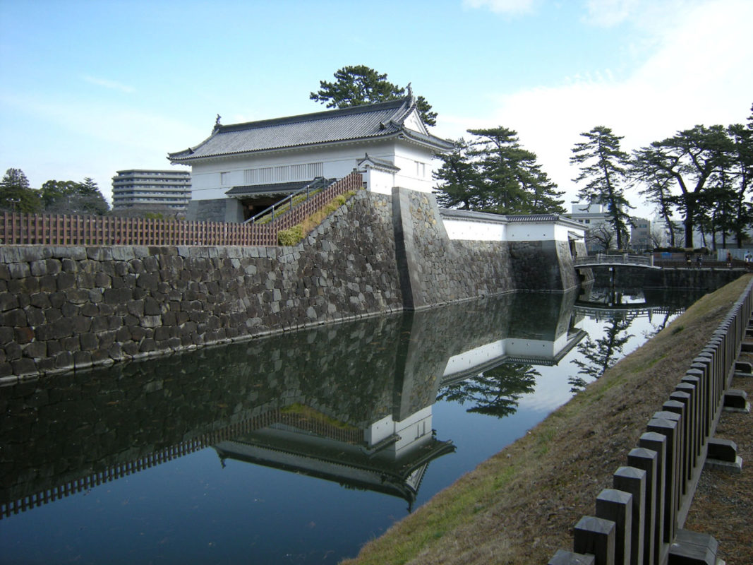 odawara japanese castlel outer keep